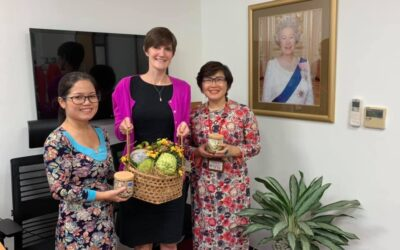 A visit to British Consulate General HCMC