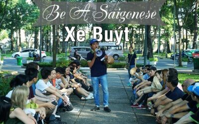 Half-day Field trip: Be A Saigonese – Xe buýt