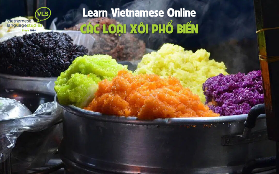 Learn Vietnamese Online: Xôi | Steamed Sticky Rice